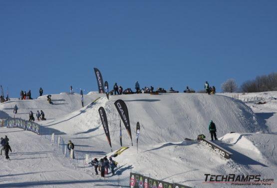 Snowpark w Witowie (widok na zjazd)