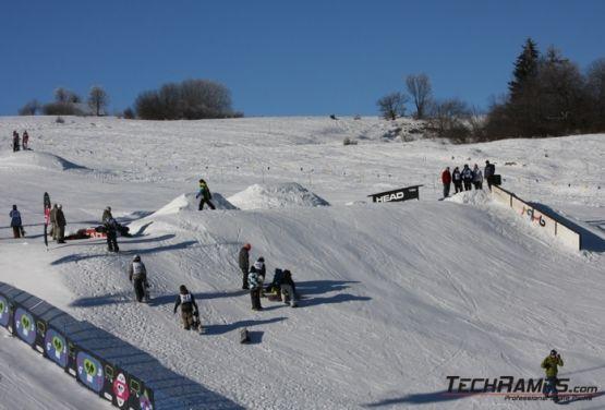 Snowpark - poręcze - Witów