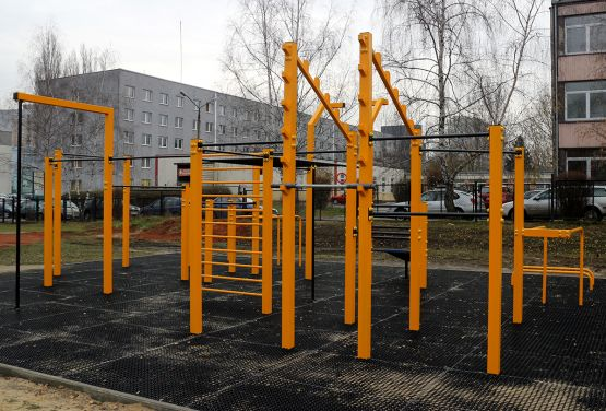 Calisthenics area in Gliwice