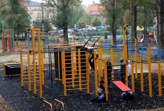 Sportplatz - calisthenic park in Trzebnica
