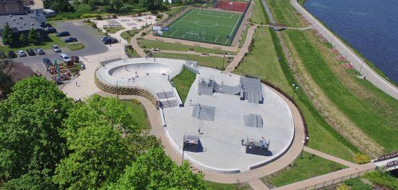 Sportstätte im Wąchock (Polen)
