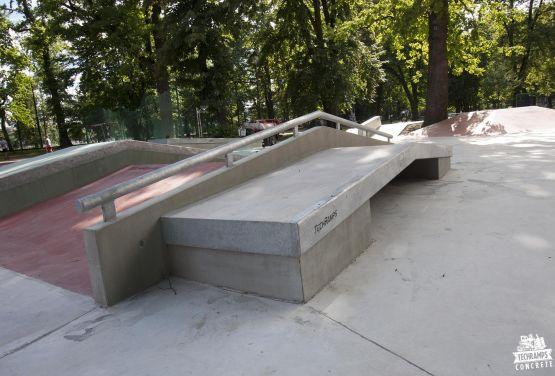 Skatepark Jordan Parc créé par Techramps