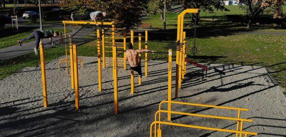 Street workout park