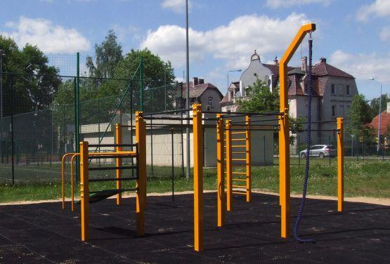 street workout park w Chojnowie