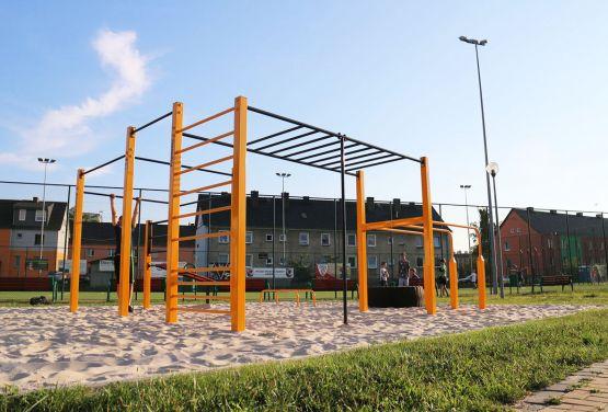 Street workout park en Ozimek