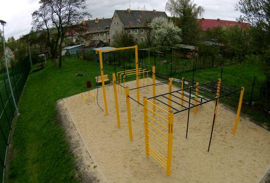 Parkour Park in Bogatynia