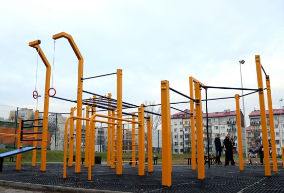Street workout in Gliwice