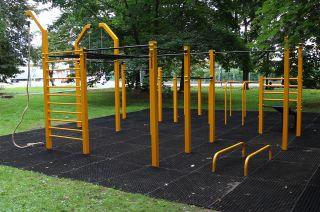 Park for calisthenics - Nysa