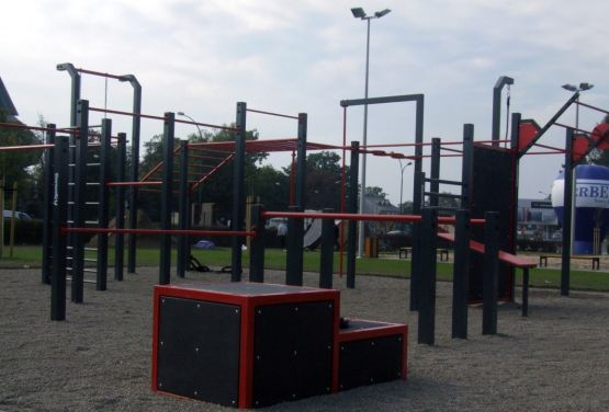 Calisthenics in the open air - Nowy Sącz