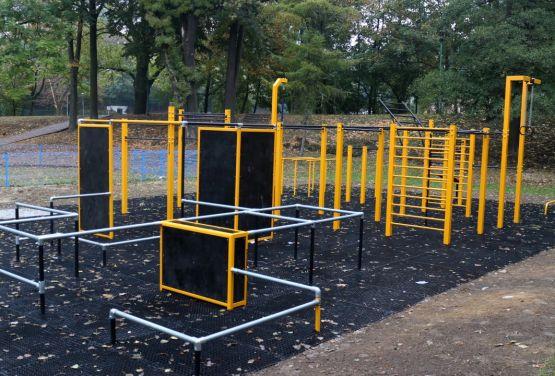 Street Workout Park in Trzebnica