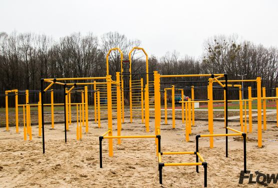 Park for training with your own body weight