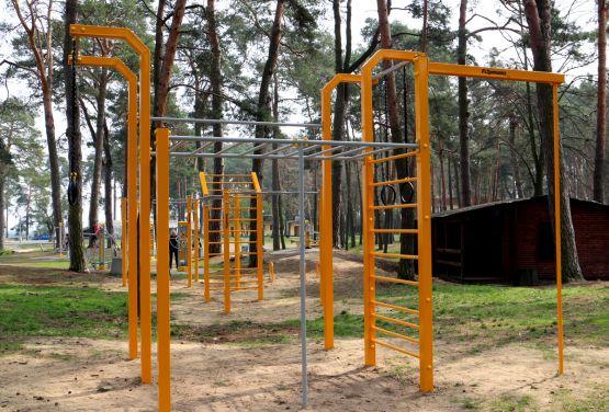 Parque de entrenamiento callejero en Kozienice