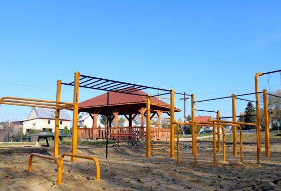 Parkour Park in Niekłań Wielki