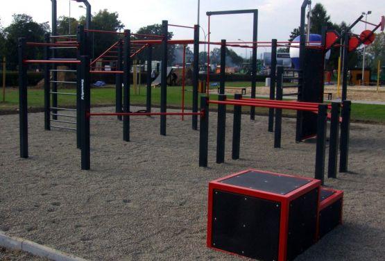 Street Workout Park w Nowym Sączu