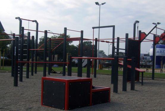 Street Workout Park Nowy Sącz
