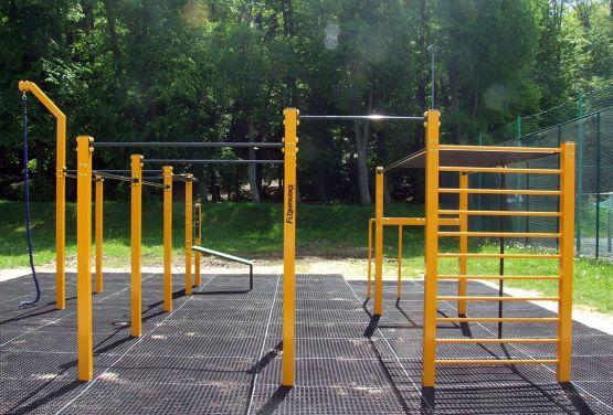 street workout park chojnów