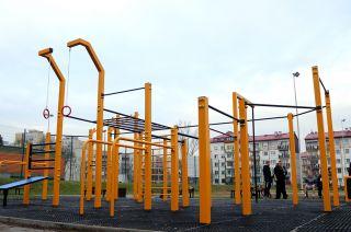 Gliwicki street workout park
