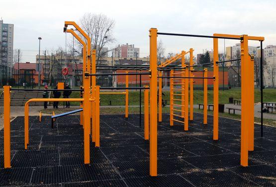 Street Workout Park w Gliwicach