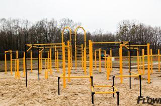 Park do ćwiczeń z własną masą ciała
