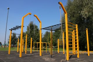 Żory - Street Workout Park Pologne