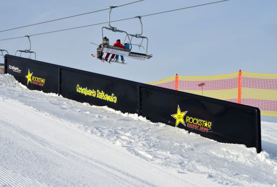 Snowpark in Szwajcaria Bałtowska (Polen)