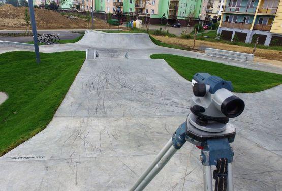 Nowy skatepark betonowy w Świeciu