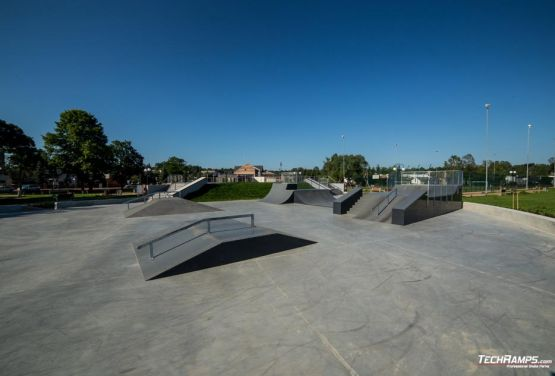 Techramps - skatepark in Wąchock in Poland