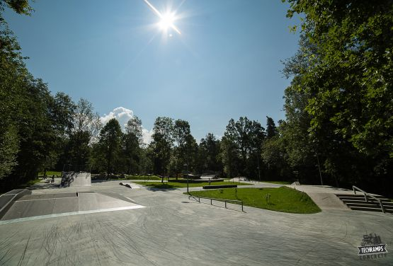 Skatepark w Rabce Zdroju - Techramps