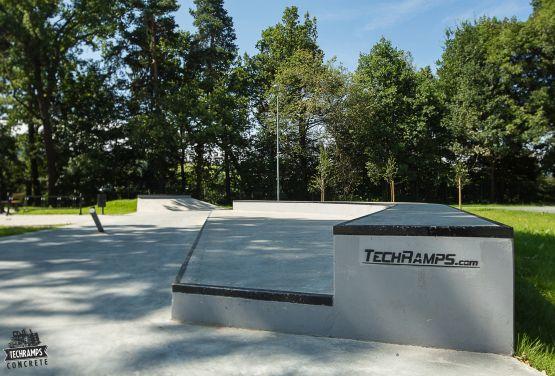 Skatepark od Techramps w Rabce Zdroju