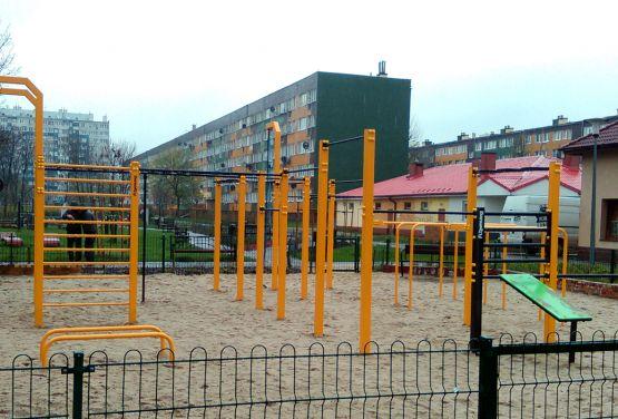 Street Workout Park à Polkowice