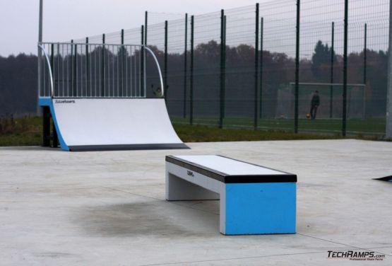 Skate bench and quarter - Torzym