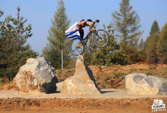 Bike trial in Olkusz