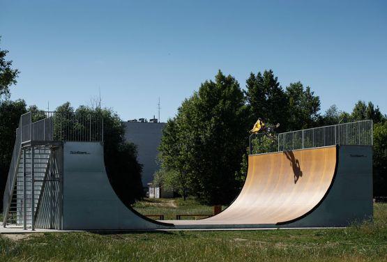 Vert ramp  - BMX (Krakau)