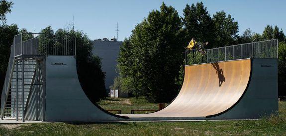 Vert Ramp à Cracovie (Pologne)