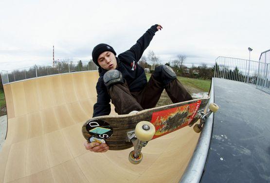 Vertramp skateboard - Andrzej Kwiatek