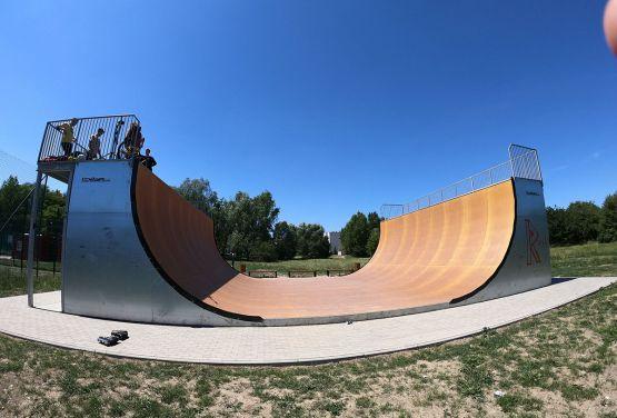 Vertramp for skateboard and bmx
