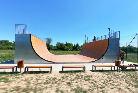 View at Vert Ramp in Cracow
