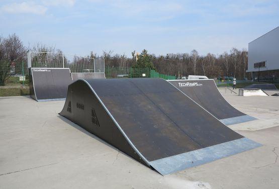 Vista en funbox en Tarnowskie Góry (Polonia)
