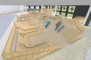 Skatepark y flowpark en Dubai