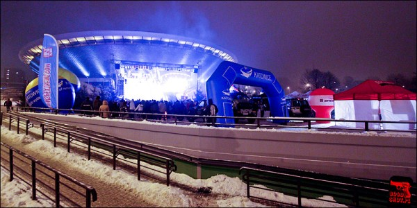 voir sur snowpark à Katowice