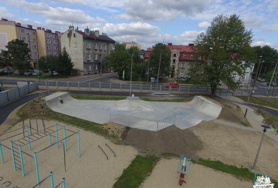 Przemyśl - extension du skatepark
