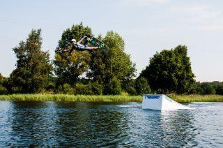 Wakepark in Zwolle (Niederlande)
