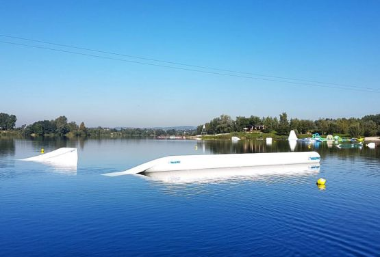 A picture of a wakepark in Cracow