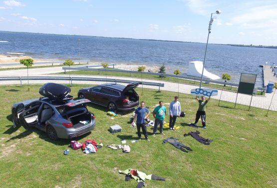 Wakeboarding équipage - Jeziorsko