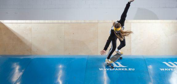 Waveramps surf training
