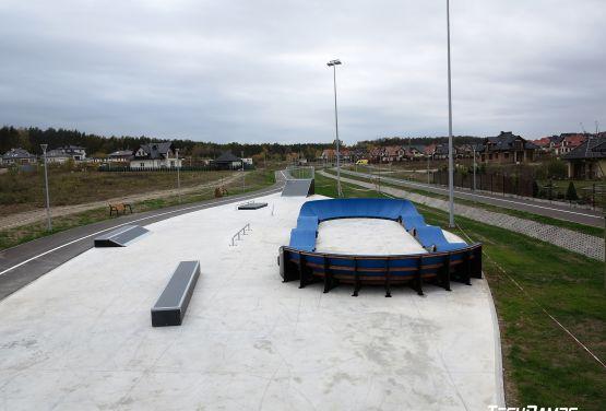 Skatepark i Pumptrack w Bilczy - widok