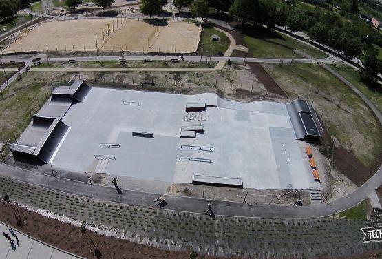 Hybrydowy Skatepark