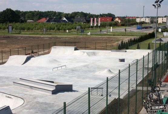 Monolityczny skatepark - Wolsztyn