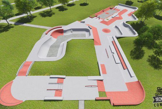 Skatepark - Rosja monolit