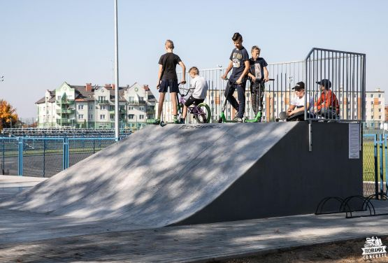 Skatepark from Techramps - project and construction
